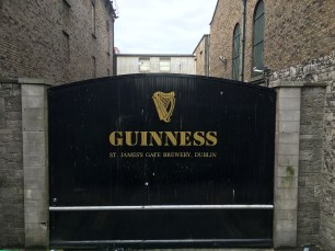 Dublin: The famous Guinnes Gate