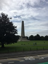 Dublin: The Wellington Monument. It is 62m tall