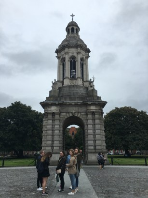 Dublin: The Trinity College Column