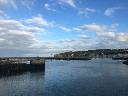 The Howth Harbour