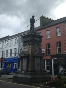 A Statue at the beginning of Denny Street