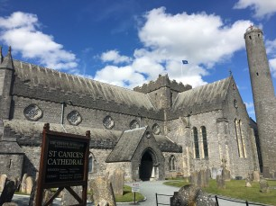 Ireland: St Canice's Cathedral and the Round Tower