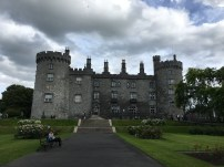 Ireland: Kilkenny Castle from the Castle Garden side