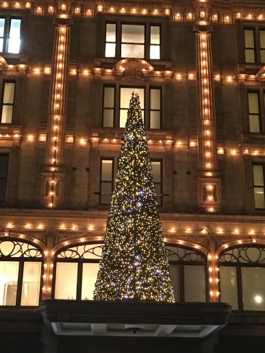 The Harrods Christmas Tree