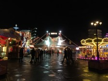 View over Winter Wonderland by night 2