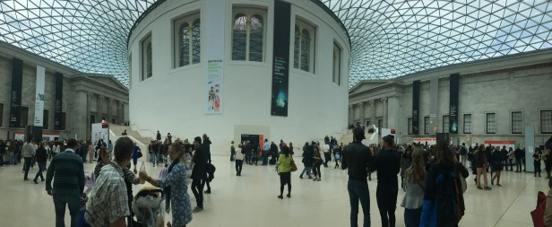 Panorama Picture of the main entrance hall