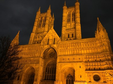 Lincoln Cathedral by night - 2