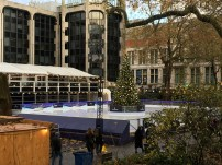 You can find Ice Rinks everywhere in London during the winter season - this one is next to the Natural History Museum