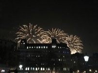 Fireworks from Trafalgar Square