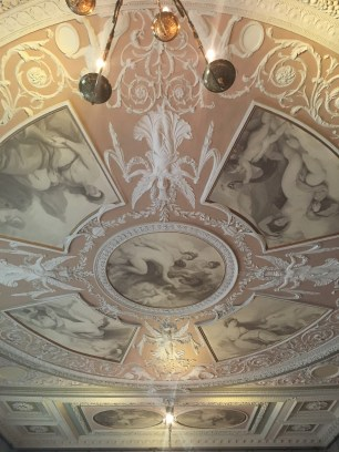 The ceiling of the Royal Academy Council and Assembly Room
