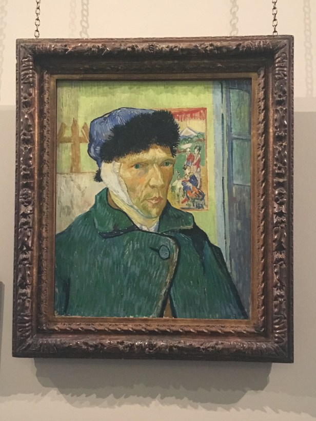 SELF-PORTRAIT WITH A BANDAGED EAR, 1889 by Vincent van Gogh