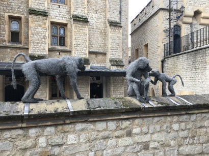 Animals on the Walls to commemorate the Zoo that once lived inside these walls