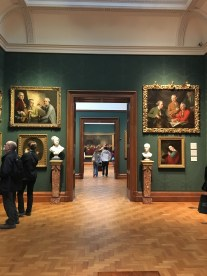 A glimpse of the National Portrait Gallery