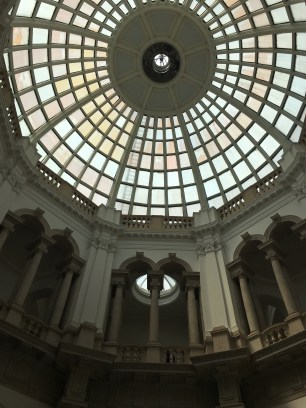 Like with most of the Museums or Galleries, the buildings are just as impressive as the exhibits