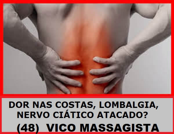 Quiropraxia, Massagem Terapêutica, Massoterapia e Ventosaterapia - tratamento e alívio da dor : dor Nervo Ciático Atacado, Nas Costas, Coluna, Lombalgia, perna, coxa, panturilha - Massagem.  #massagemterapeutica #massagem #massagemrelaxante #massagemparadores #massagista #massoterapia #quiropraxia #dor #nascostas #coluna #lombar #lombalgia #torcicolo #nervociatico #ombro #pescoco #saojosesc #floripa #florianopolis #palhoca #biguacu #vicomassagista
