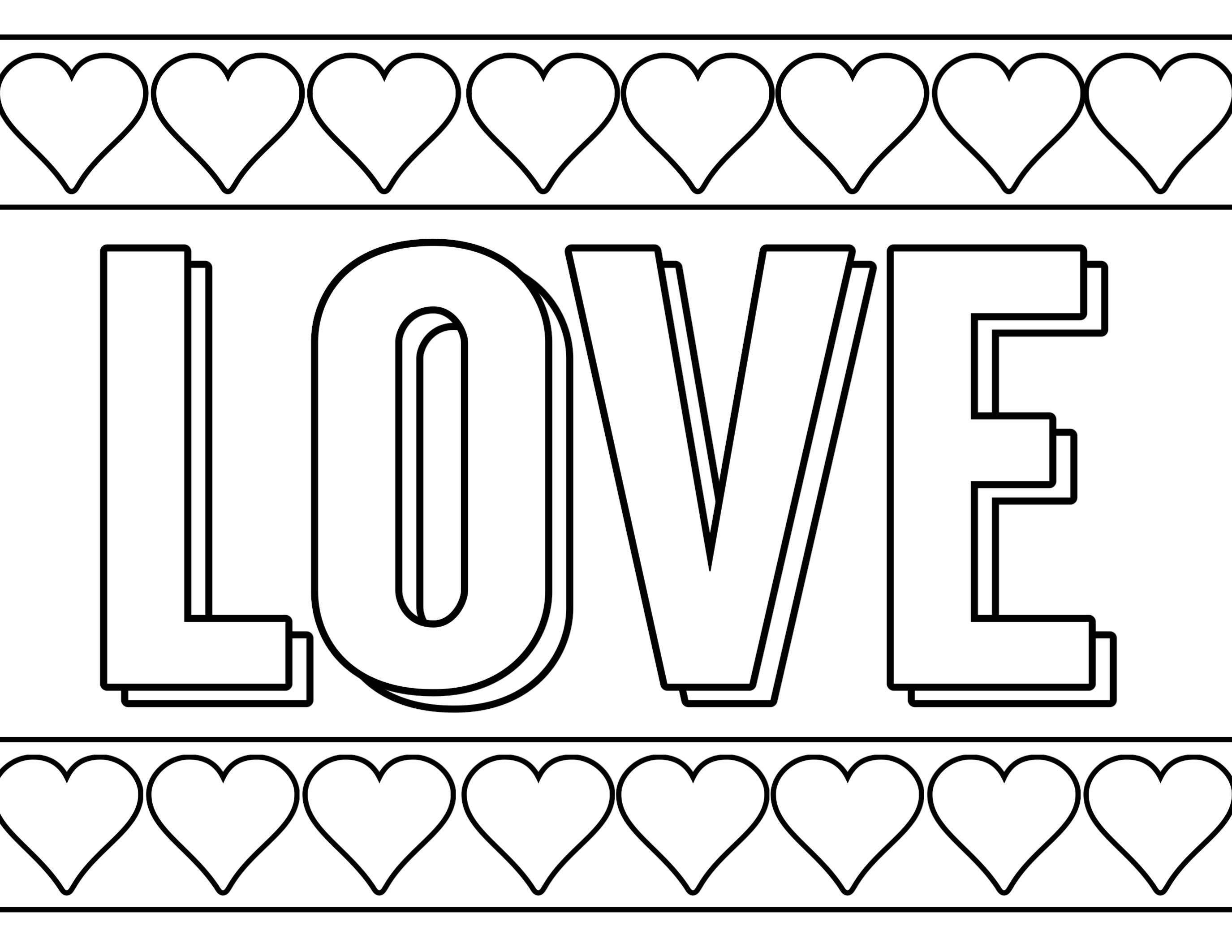 Creative Photo Of Coloring Pages Valentine