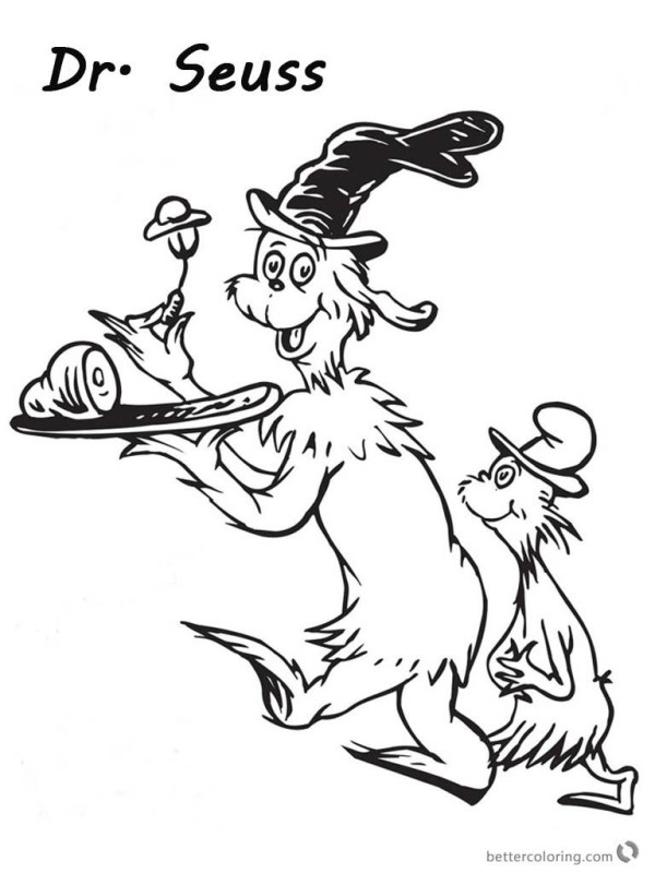 green eggs and ham coloring page # 14