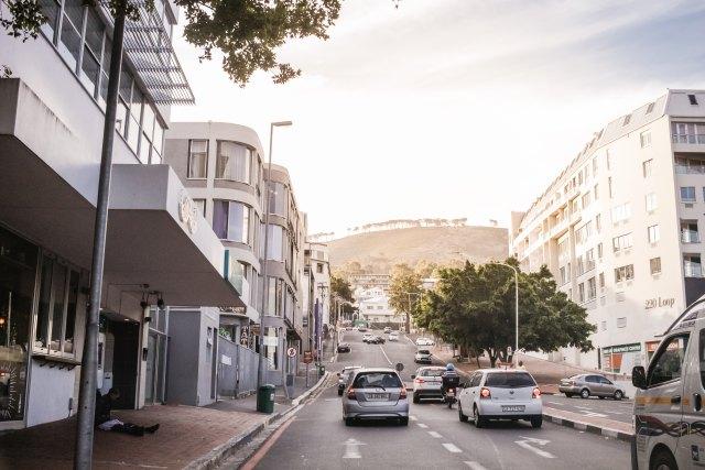 Verkehr in Kapstadt