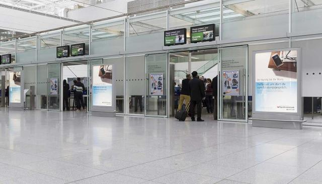 Airport MUC Security Check