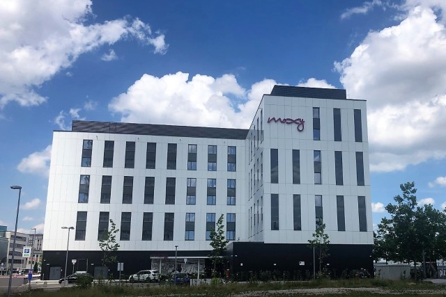 Moxy Hotel Ludwigshafen Außenansicht