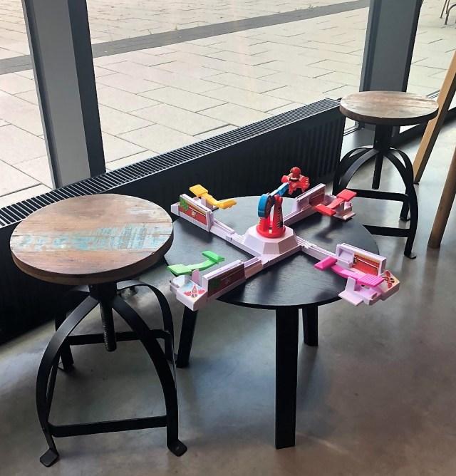 Moxy Hotel Ludwigshafen Spielzeug auch für Erwachsene