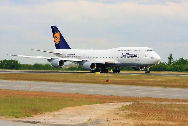 Lufthansa Boeing 747-800 die Queen of the Skies