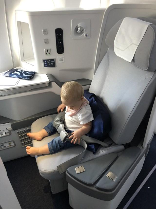 Ich teste den Finnair Business Class Seat: Airbus A350 HE :- LAX