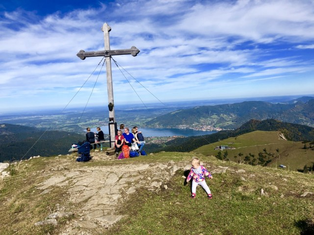 Vic am Gipfel, Hirschberg 1668m