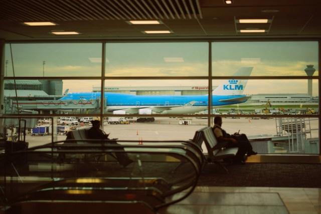 KLM ist eine gute Airline und bietet Spielzeug für Kinder an Board.
