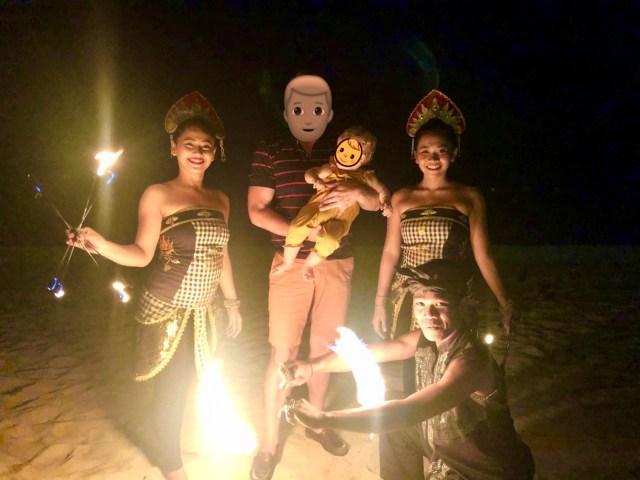 Bali Traditional Dance - tolles Erlebnis direkt am Strand