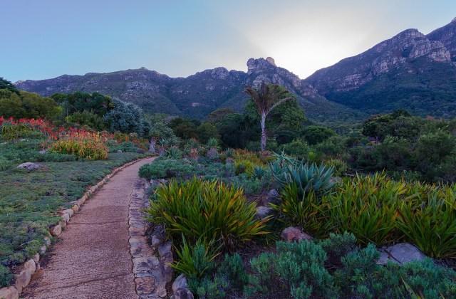 Die Botanical Garden sind farbenfroh und duften morgens uns abends