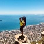 Lion's Head Kapstadt Gipfel toller Blick Felsen