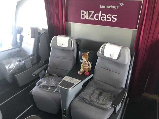 Eurowings Business Class im Airbus A330-300