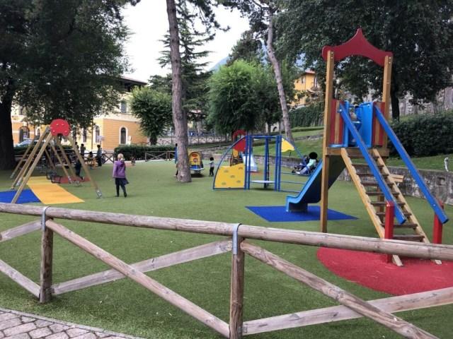 Spielplatz in Malcesine
