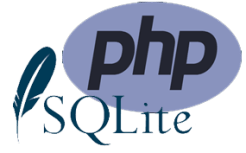 php and sql lite