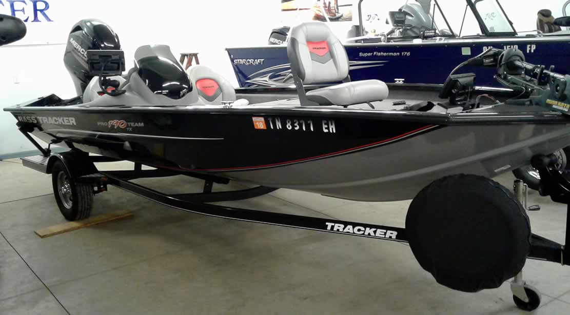 2014 Tracker Boats 190 Pro Team Mercury 90 Four Stroke
