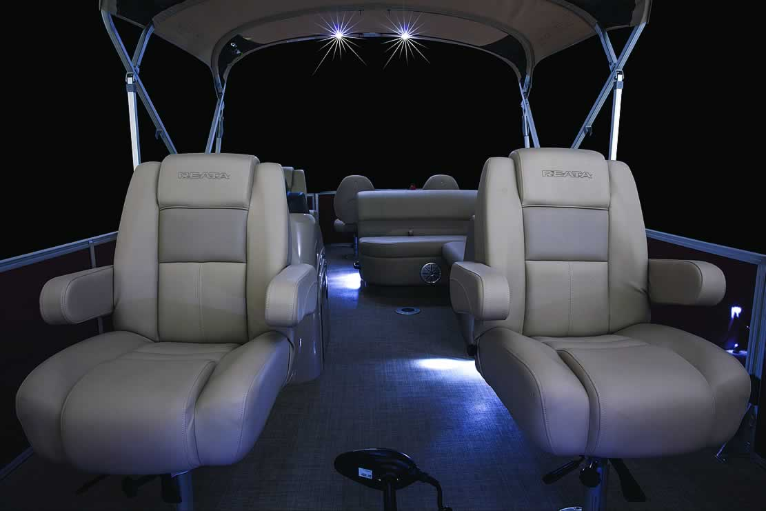 hight resolution of  ranger reata rp223f fish triple tube pontoon