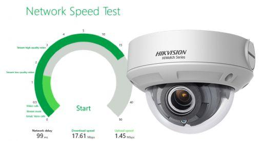 hikvision débit compression image video