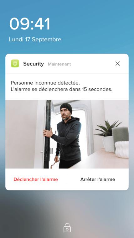 netatmo sécurité alarme test