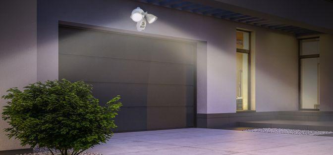 projecteur lumineux extérieur caméra surveillance détection mouvement