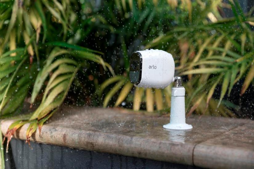camera arlo pluie intemperie