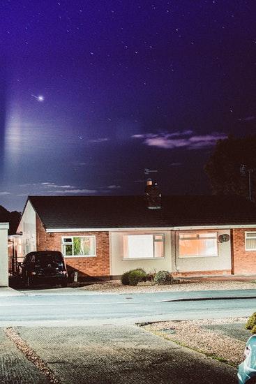 domotique maison nuit lumiere