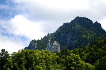 neuschwanstein from town small