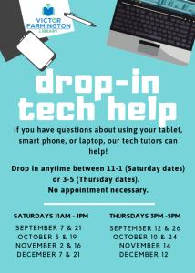 Drop-in Tech Help