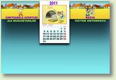 Calendar 2011 Muschetari