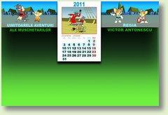 Calendar octombrie 2011 muschetari