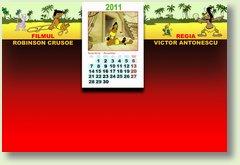 Calendar noiembrie Robinson