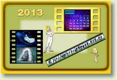 Calendar ianuarie 2013