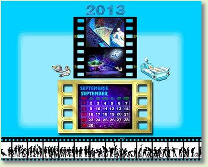 calendar SEPTEMBRIE