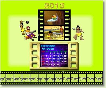 calendar OCTOMBRIE